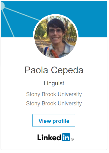 LinkedIn Badge for Paola Cepeda